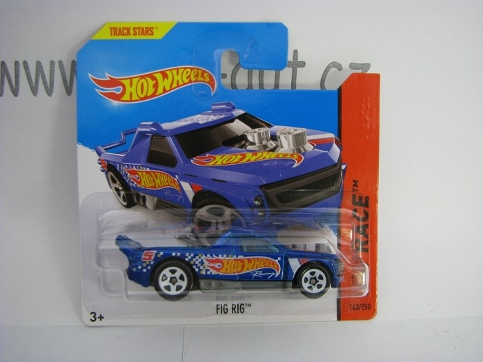 Hot Wheels 2014 Fig Rig HW Race 5785 143/250