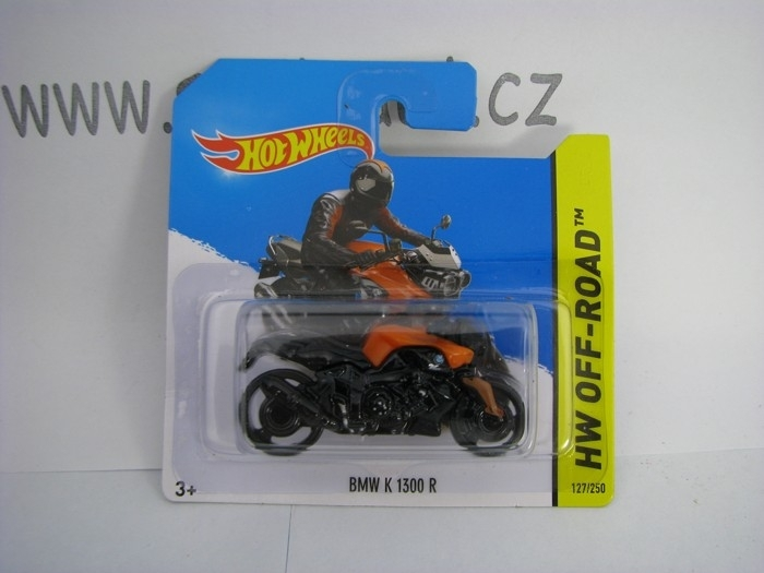Hot Wheels 2014 BMW K 1300 R 1968 HW Off-Road 5785 127/250