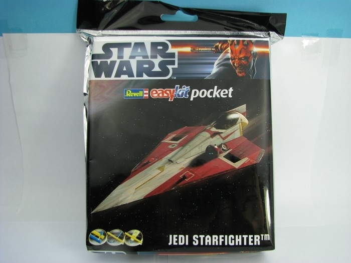 Star Wars Jedi Starfighter Easy Kit Pocket 1:80 Revell