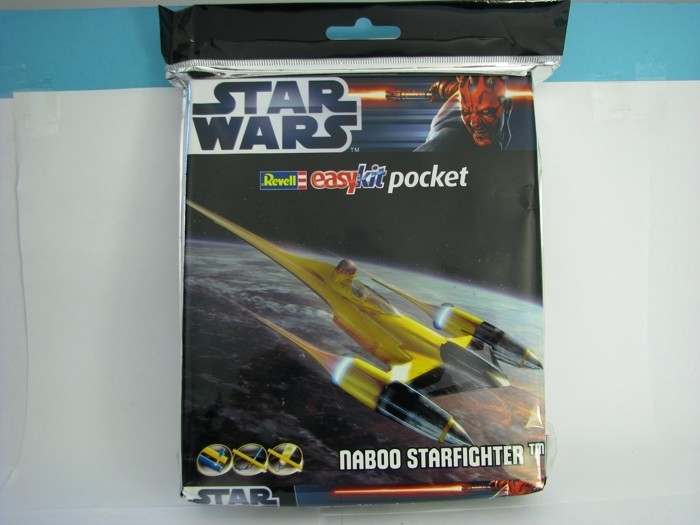 Star Wars Naboo Starfighter Easy Kit Pocket 1:80 Revell