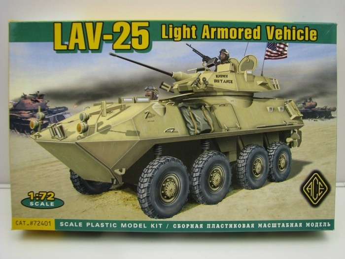 LAV-25 US Light Armored Vehicle 1:72 ACE
