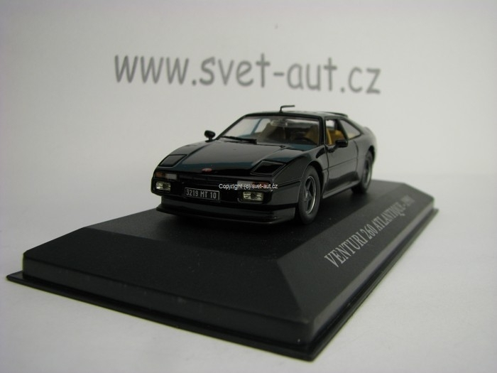 Venturi 260 Atlantique 1991 Black 1:43 Atlas