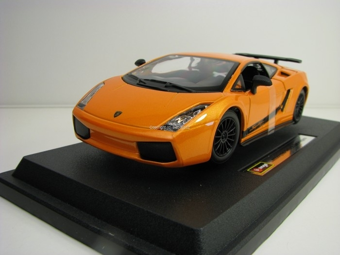 Lamborghini Gallardo Superleggera Orange 1:24 Bburago