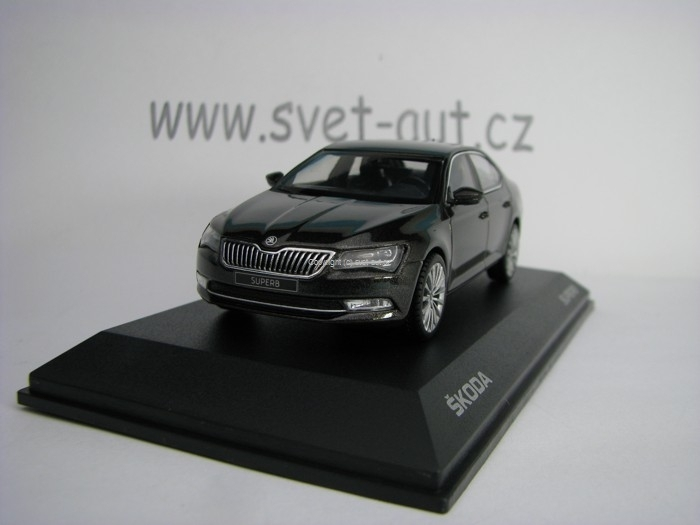 Škoda Superb III Magnetic Brown 1:43 i Scale