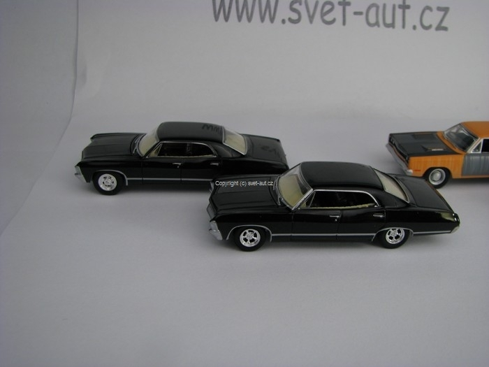 Supernatural Join The Hunt 4 modely Hollywood series 1:64 Greenl