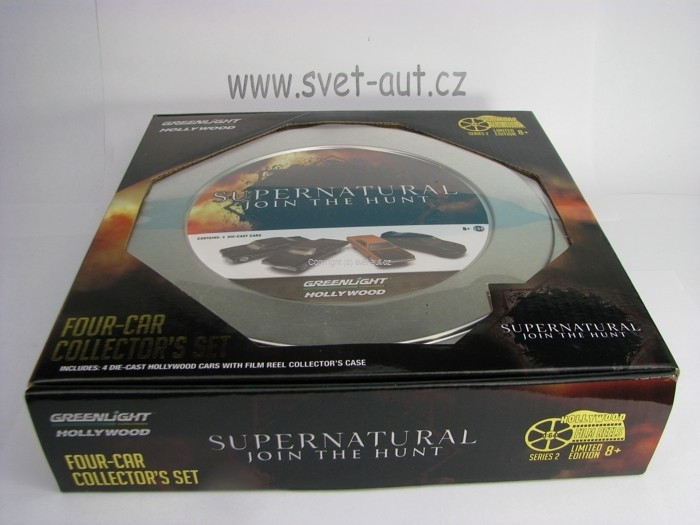 Supernatural Join The Hunt 4 modely Hollywood series 1:64 Greenlight