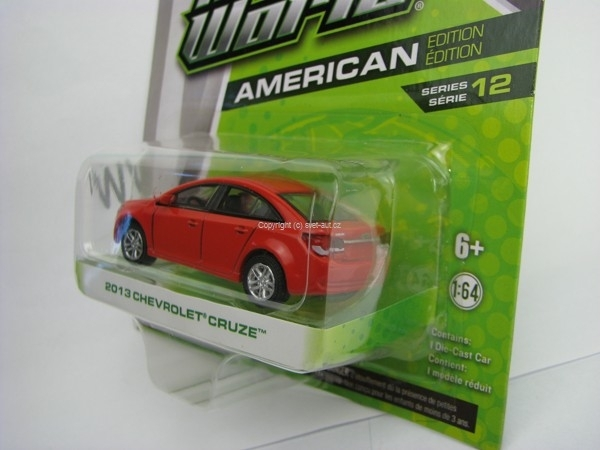 Chevrolet Cruze 2013 Red Motor World 1:64 Greenlight