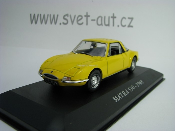 Matra 530 1968 Yellow 1:43 Atlas