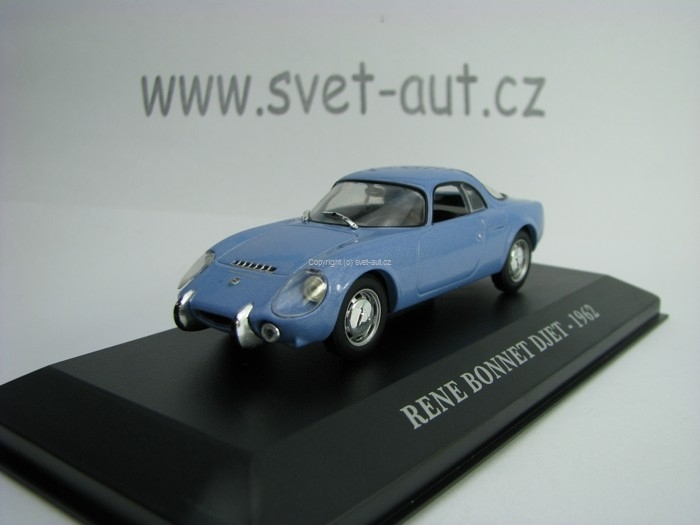 Rene Bonnet Djet 1962 Blue 1:43 Atlas