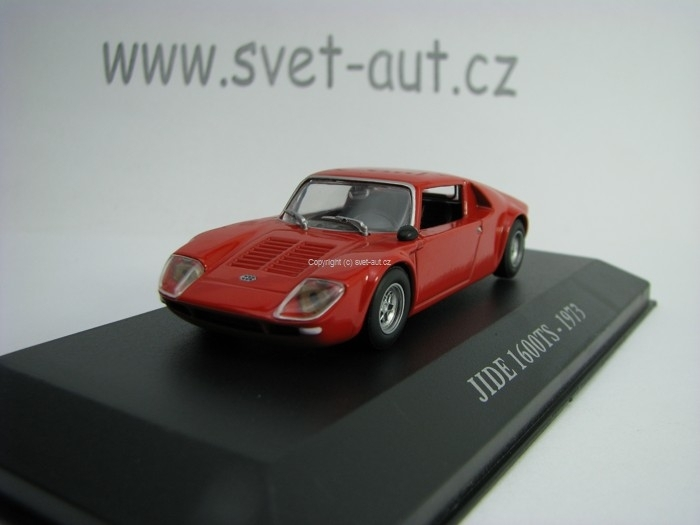 Jide 1600TS 1973 Red 1:43 Atlas