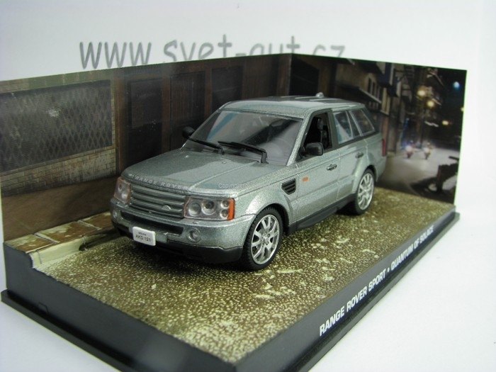 Range Rover Sport Quantum Of Solage James Bond 007 1:43 Universal Hobbies