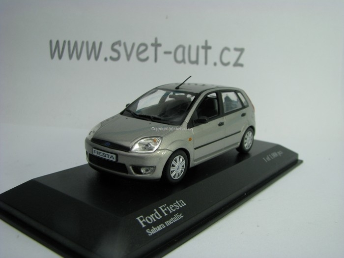Ford Fiesta 2002 5 doors Sahara Metallic 1:43 Minichamps