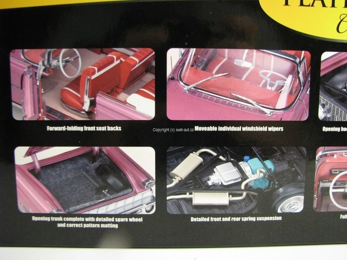 Oldsmobile 98 Open Convertible 1959 Burgundy Mist Metallic 1:18