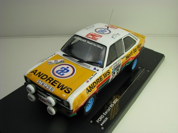 Ford Escort RS1800 3rd RAC Rally 1977 No.23 Brookes 1:18 Sunstar