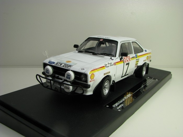 Ford Escort RS1800 Rally Maroco 1976 No.7 Clark 1:18 Sunstar 4490R