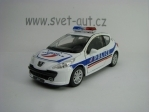 Peugeot 207 Police Pull Back 1:36 Welly