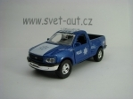 Ford F150 1997 Policía Federal Pull Back 1:36 Welly