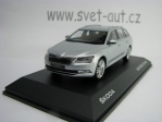 Škoda Superb Combi III Silver Briliant 1:43 i Scale