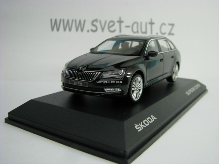 Škoda Superb Combi III Black Magic 1:43 i Scale