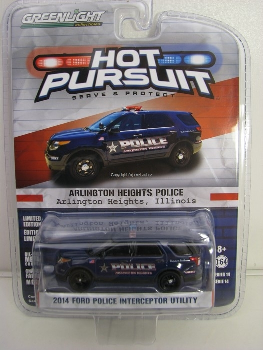 Ford Police Interceptor Utility 2014 Hot Pursuit 1:64 Greenlight