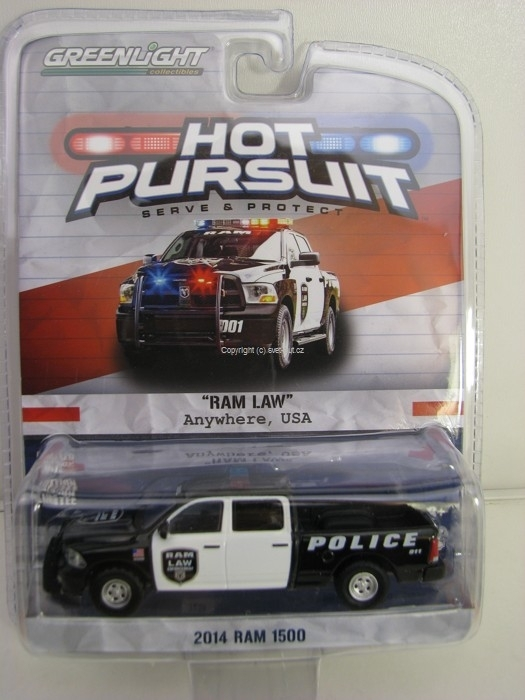 Dodge RAM LAW 1500 2014 Hot Pursuit 1:64 Greenlight