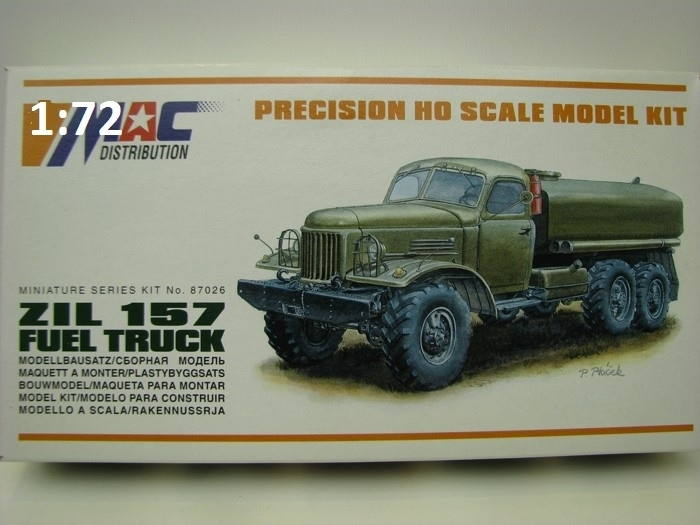 Zil 157 Fuel Truck 1:72 MAC