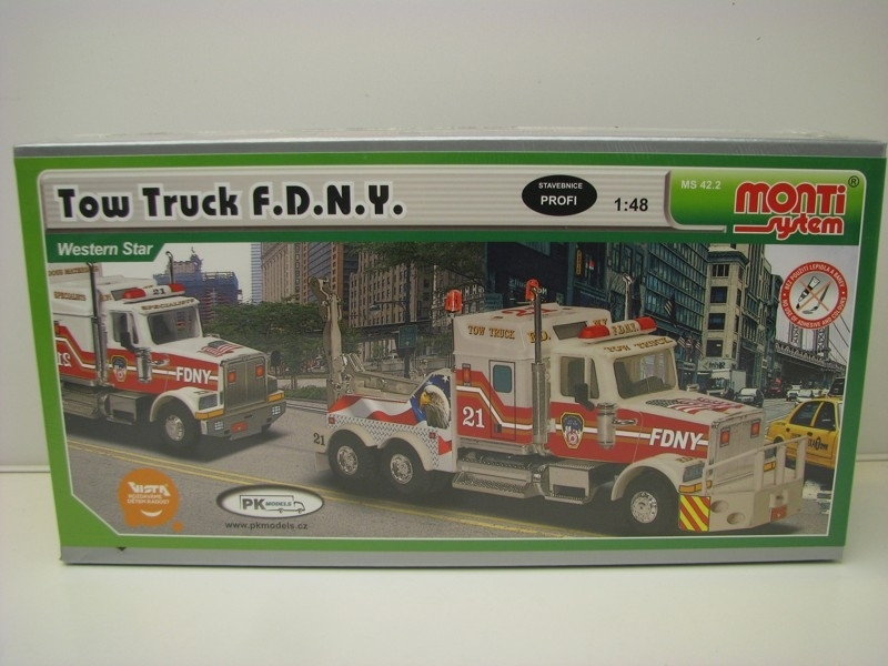 Western Star Tow Truck FDNY 1:48 Vista Monti system