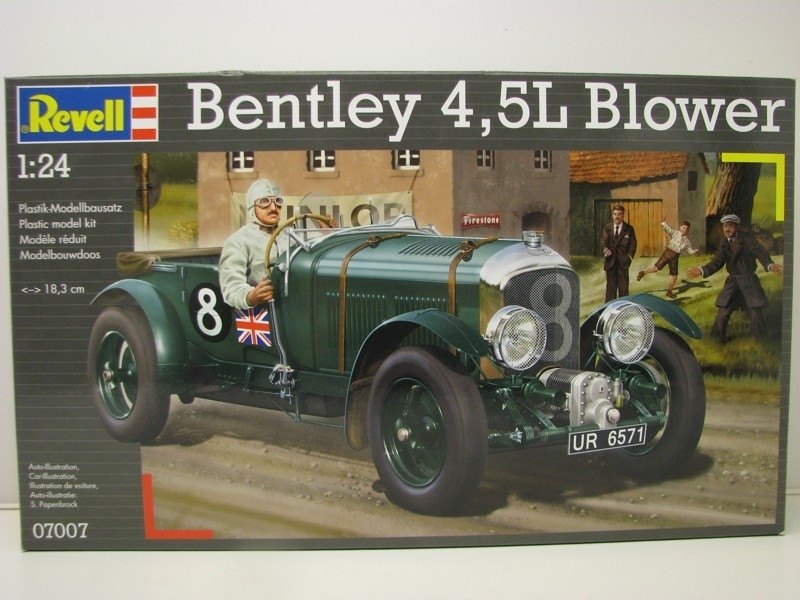 Bentley 4,5L Blower 1:24 Revell