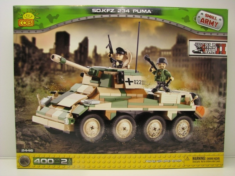 Cobi 2446 SD.KFZ. 234 Puma Small Army