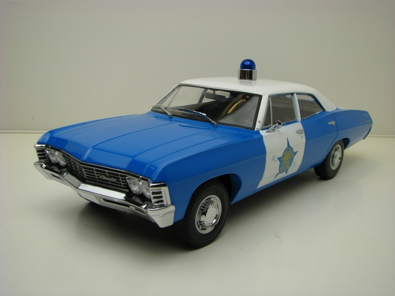 Chevrolet Biscayne 1967 Chicago Police Department 1:18 Greenlight