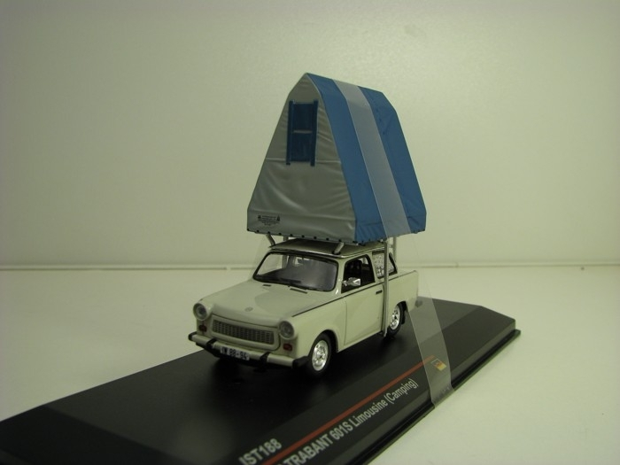 Trabant 601S 1980 Limousine Camping 1:43 Ixo Ist188