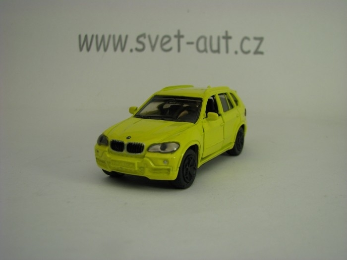 BMW X5 Yellow model Siku 1432