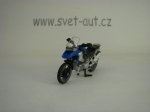 BMW R1200 GS Blue model Siku 1047