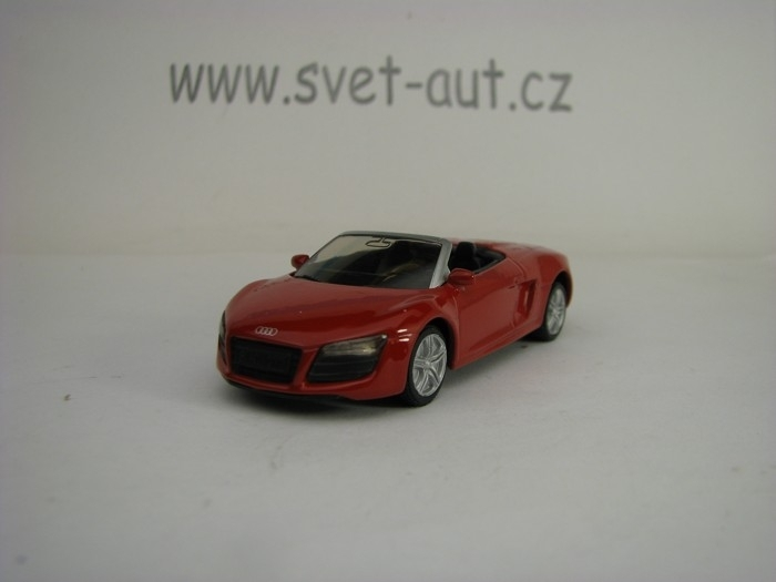 Audi R8 Spyder red model Siku 1316