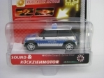 Mini Cooper S Polizei Pull Back Action Carrera 19113
