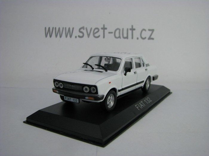 Fiat 132 White 1:43 Atlas
