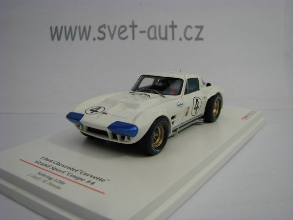 Chevrolet Corvette Gand Sport Coupe No.4 Hall 1:43 TSM True Scale Models