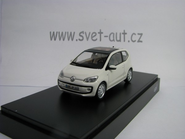 Volkswagen UP 2 Doors 2012 White 1:43 Schuco