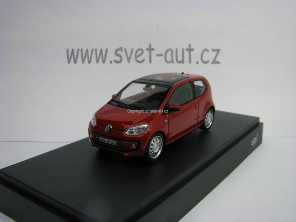 Volkswagen UP 2 Doors 2012 Red 1:43 Schuco