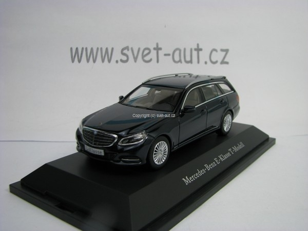 Mercedes-Benz E-Klasse T-Model S212 Blue 1:43 Kyosho