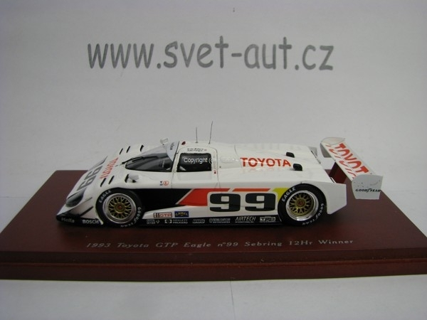 Toyota GTP Eagle 1993 No.99 Sebring 12 Hr Winner 1:43 TSM True S
