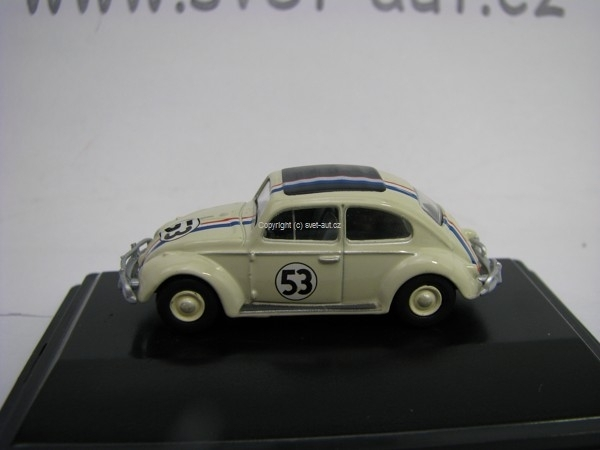Volkswagen Beetle Herbie 53 1:76 Oxford