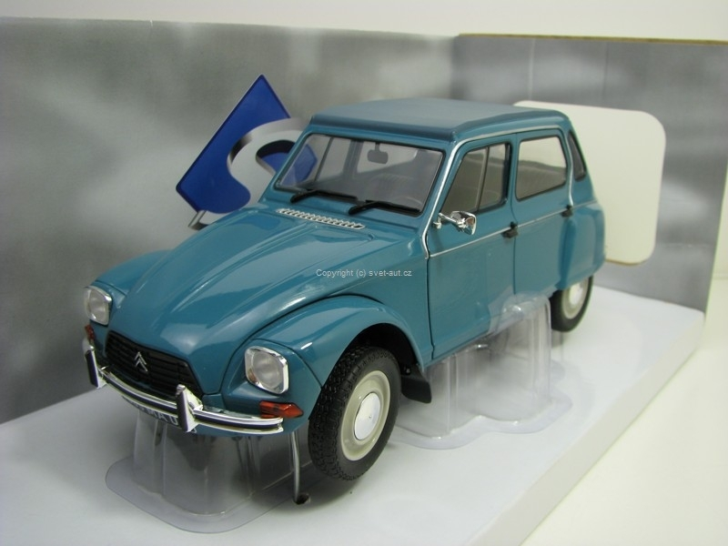 Citroen Dyane 6 Blue 1:18 Solido