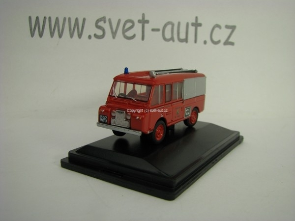 Land Rover FT6 Carmichael Cheshire County Fire Brigade 1:76 Oxford