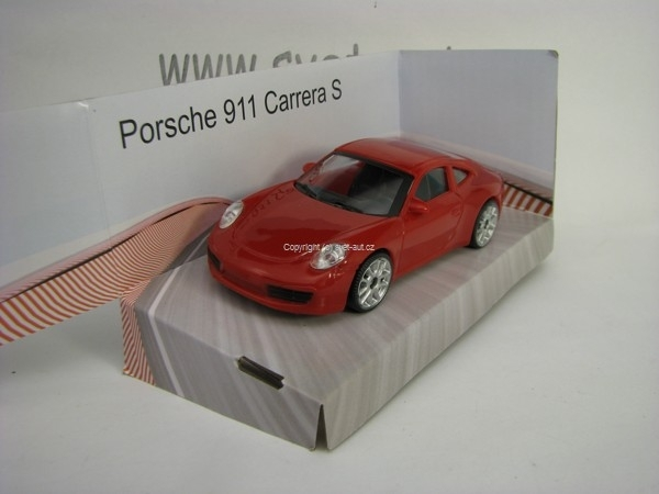 Porsche 911 Carrera S Red 1:43 Mondo Motors Fast Road