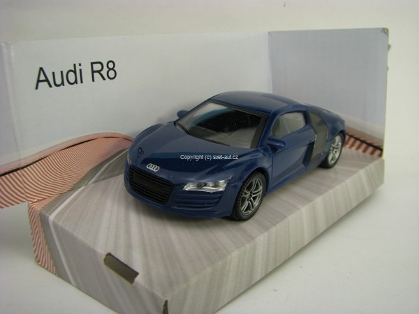 Audi R8 Blue 1:43 Mondo Motors Super Fast Road