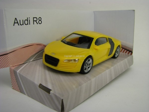 Audi R8 Yellow Super Fast Road 1:43 Mondo Motors