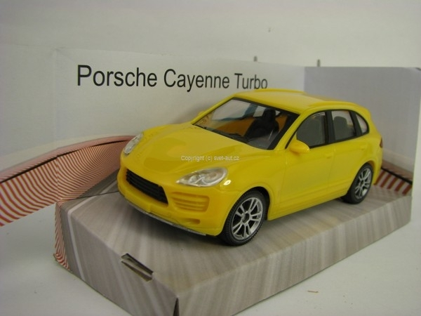Porsche Cayenne Turbo Yellow 1:43 Mondo Motors