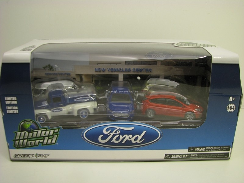 Motor world Diorama - Ford 1:64 Greenlight 58017