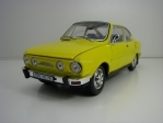 Škoda 110R Coupé 1980 Solar Yellow 1:18 Abrex